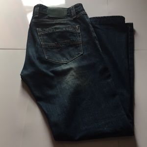 Turkish blue jeans sz 31x34. EUC